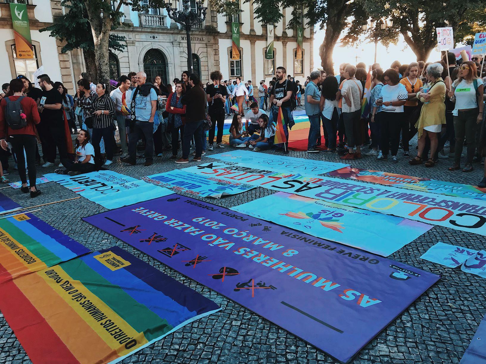 2.ª Marcha de Viseu Pelos Direitos LGBTI+ sai à rua por uma cidade livre de opressão