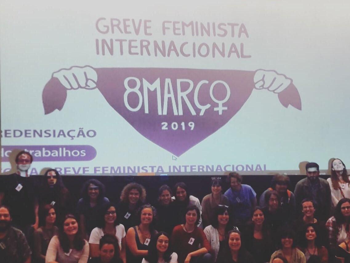 Rede 8 de Março começa o caminho para a Greve Feminista de 2020