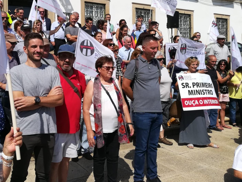 Plataforma pela Reposição das Scuts exige a abolição das portagens na A23 e A25