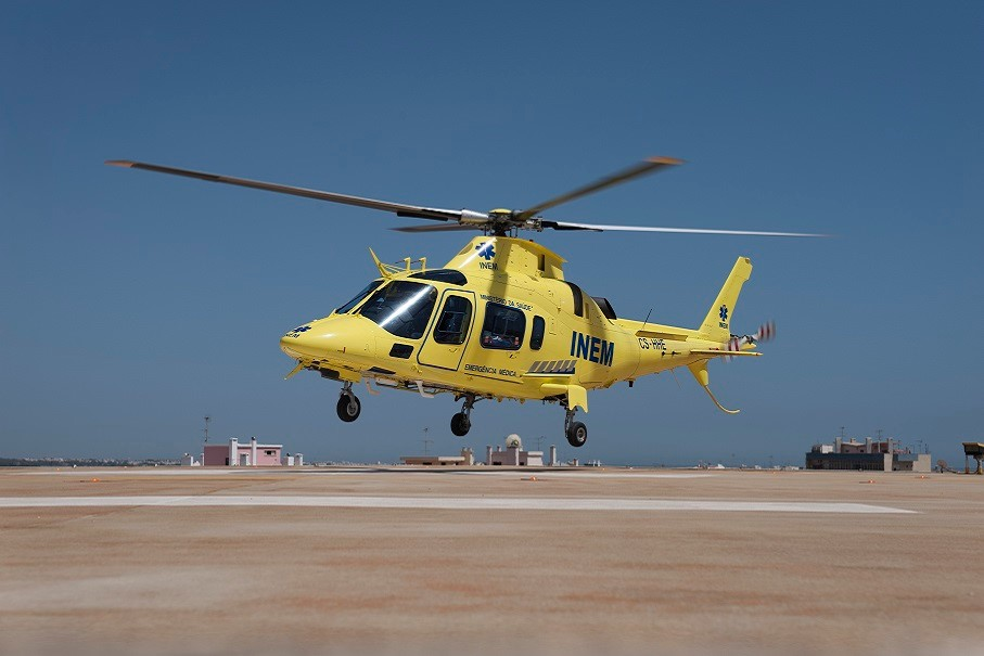 Helicóptero do INEM deslocalizado de Santa Comba Dão para Viseu