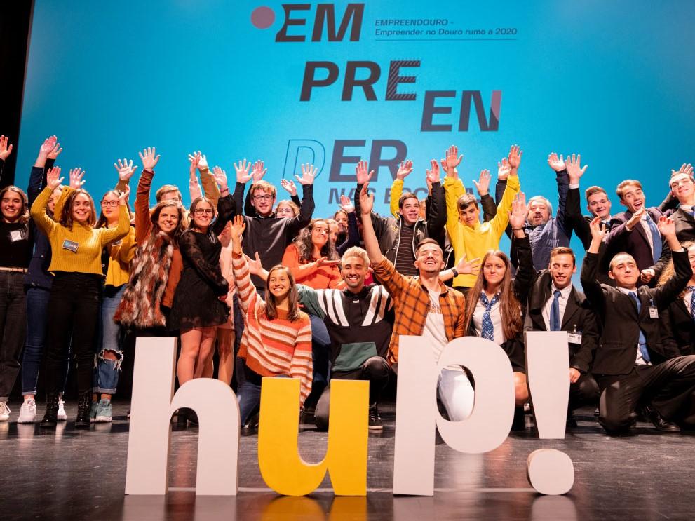 """Já são conhecidos os vencedores dos concursos de ideias """"Empreender nas Escolas"""" da iniciativa hup!douro"""