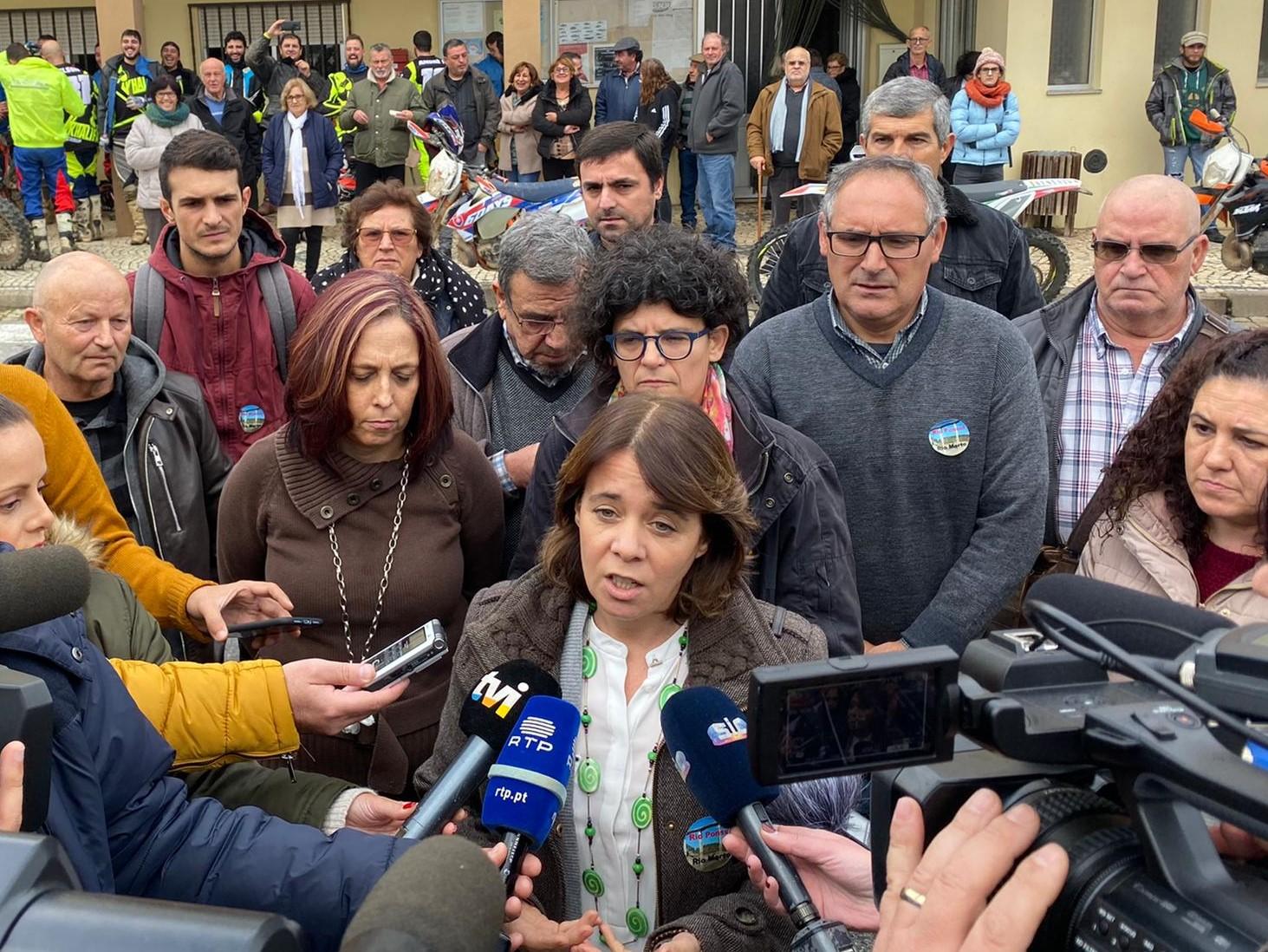 Catarina Martins defende alterações à Convenção de Albufeira que garantam caudais diários