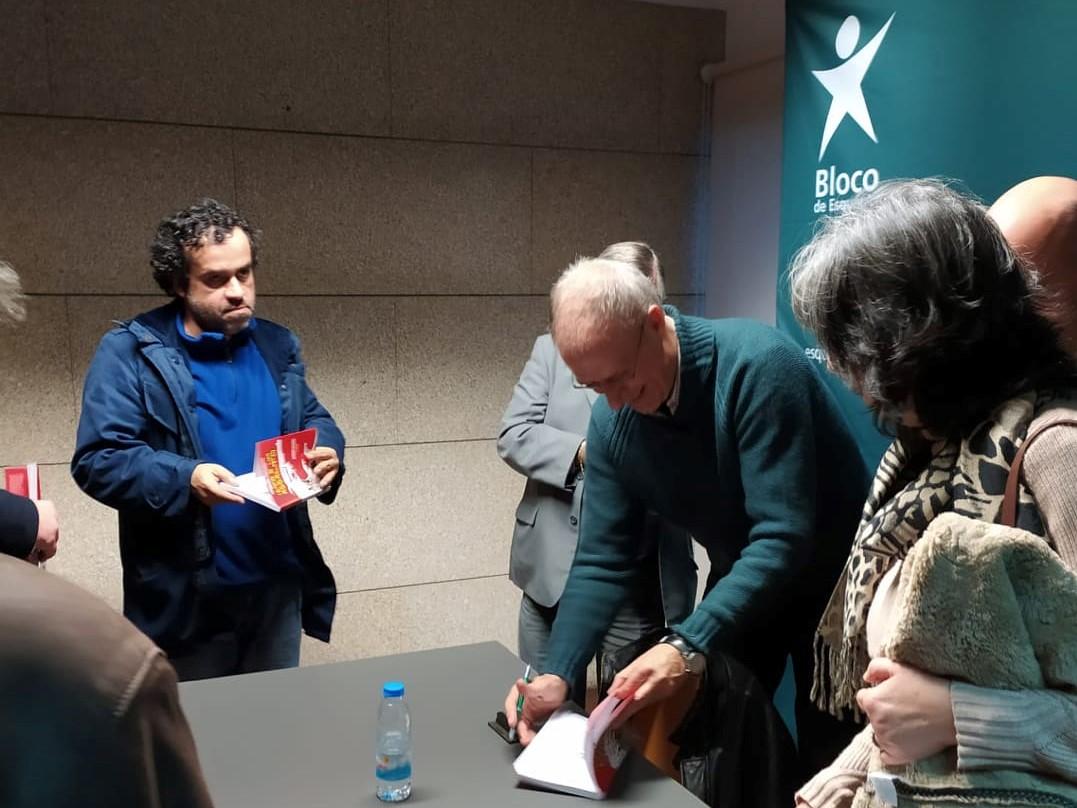 Francisco Louçã esteve em Carregal do Sal na 3ª edição do Culturiza-te