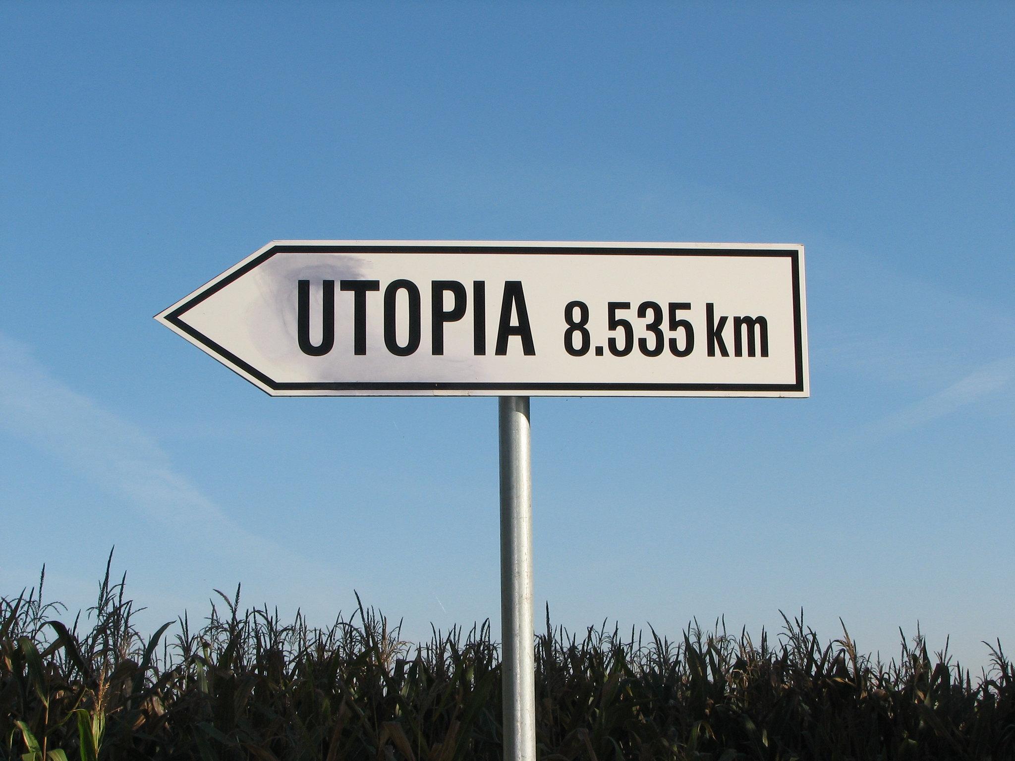 a utopia feita verbo