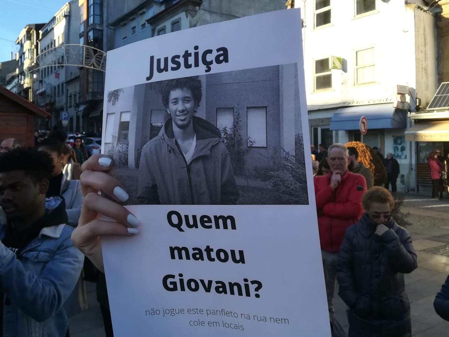 Detidos mais 3 suspeitos de envolvimento na morte de Giovani em Bragança