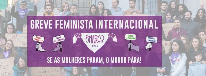 Rede 8M de Vila Real convoca greve e concentração para o dia 8 de março