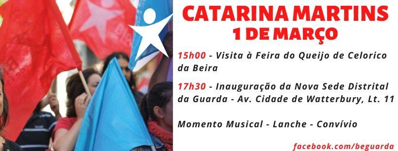 Catarina Martins em Celorico da Beira e Guarda