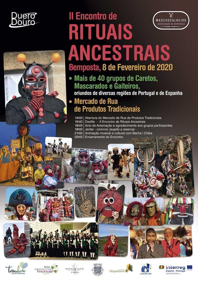 Cartaz do II Encontro de Rituais Ancestrais
