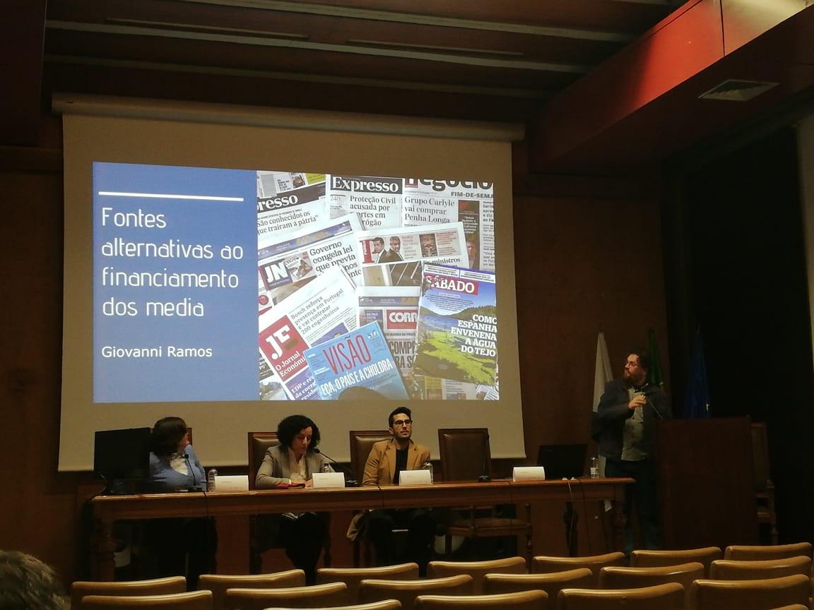 Fórum sobre financiamento do jornalismo e media regionais juntou jornalistas, estudantes e diretores