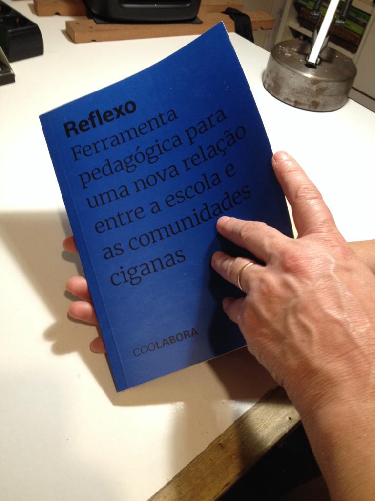 """Projecto do manual """"Reflexo"""" da CooLabora reconhecido a nível nacional"""