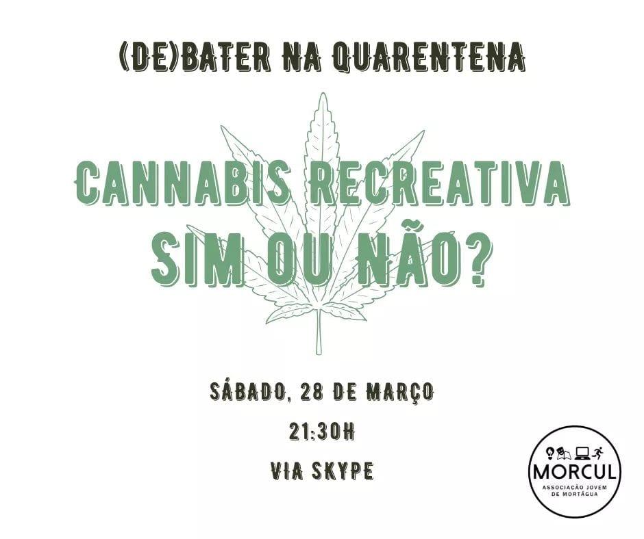 MORCUL promove debate online sobre a cannabis recreativa
