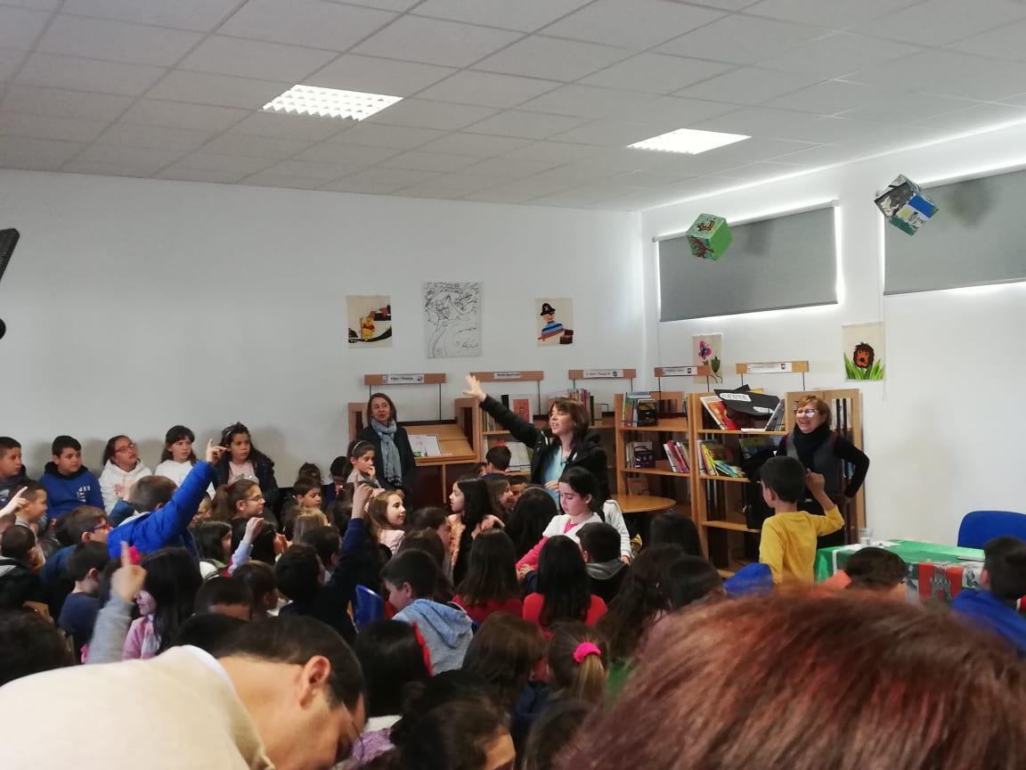 Crianças de Belmonte entrevistam Catarina Martins