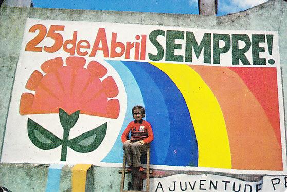 """""""Abril é amor, Abril é de todas as Cores!"""" –46 anos de Abril e de lutas LGBTQI+ em Portugal"""