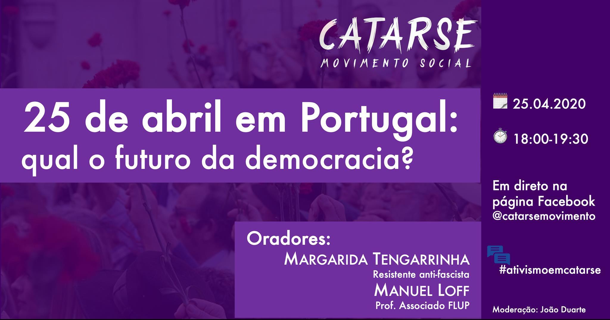 Ciclo de Conferências #ativismoemcatarse