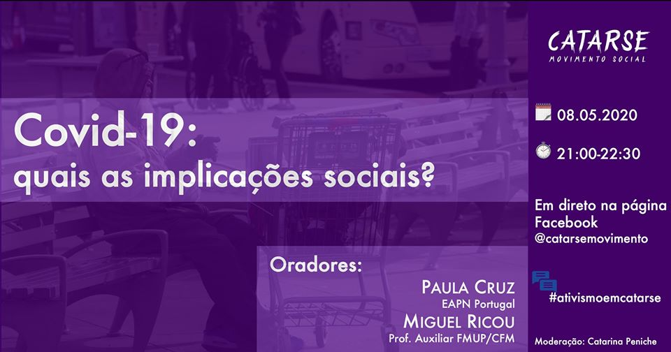 Catarse/Movimento Social: Debate sobre as implicações sociais da covid-19
