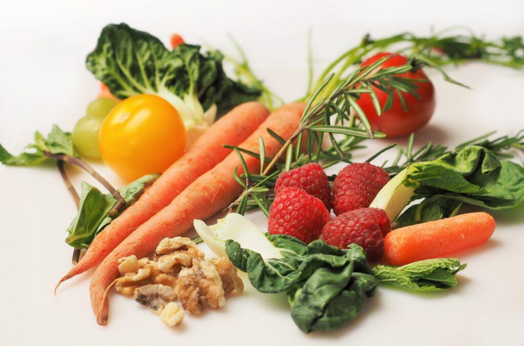 legumes e frutos