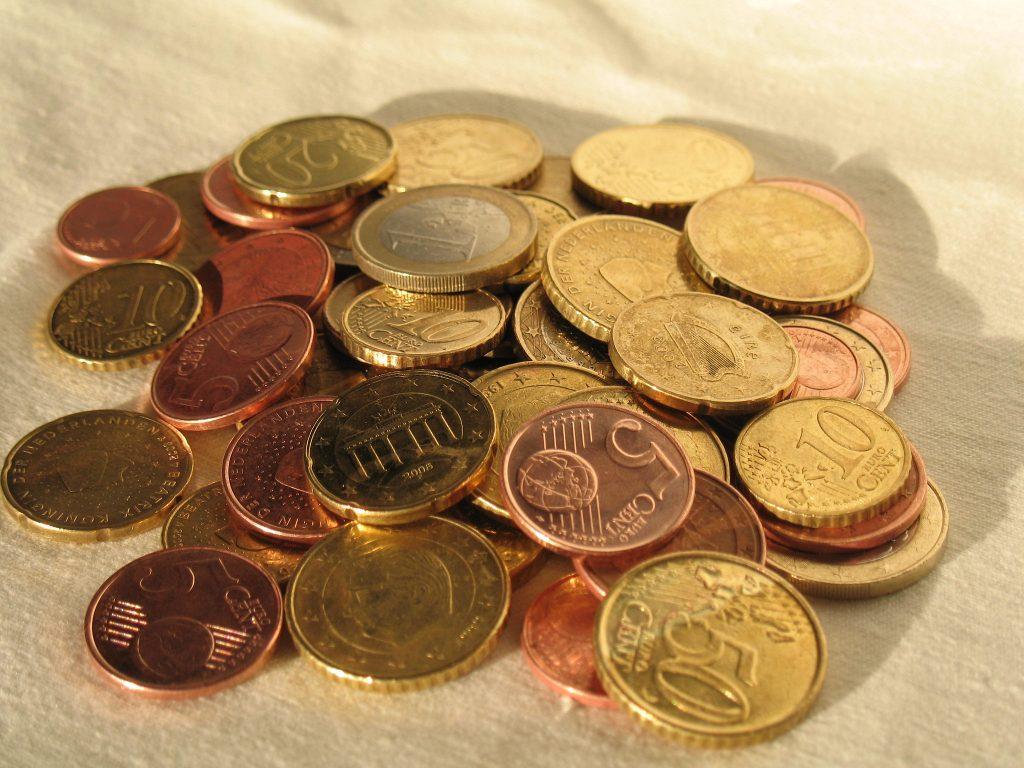 Dinheiro - Moedas