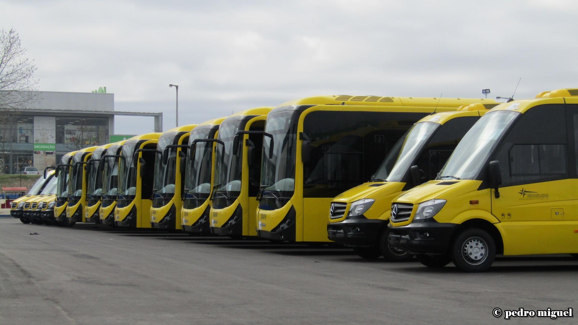 Os transportes no interior e o interior dos transportes…