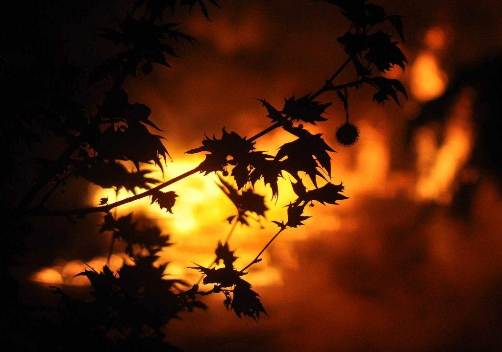 Incêndio, Fogo
