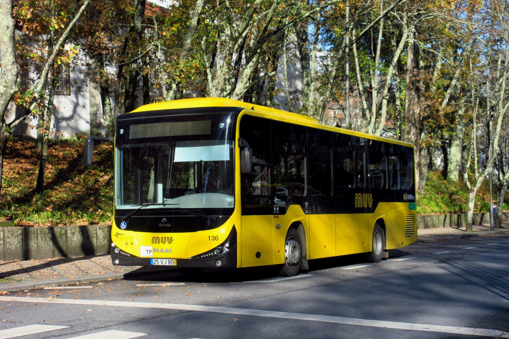 Câmara Municipal de Viseu questionada por causa da sobrelotação nos autocarros MUV