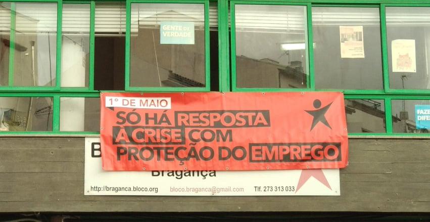 """Bloco Bragança: """"Só com a valorização do trabalho e de quem o desempenha podemos caminhar para uma sociedade mais justa."""""""