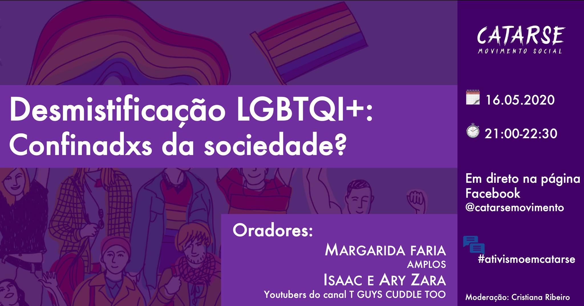 O impacto da pandemia na comunidade LGBTQI+ : #ativismoemcatarse