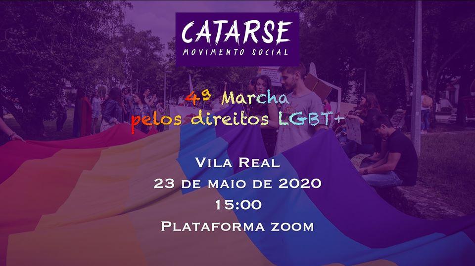 Manifesto da 4ª Marcha pelos Direitos LGBT+ de Vila Real
