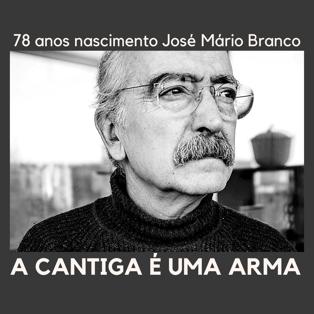 A cantiga é uma arma: 78 anos do nascimento de José Mário Branco
