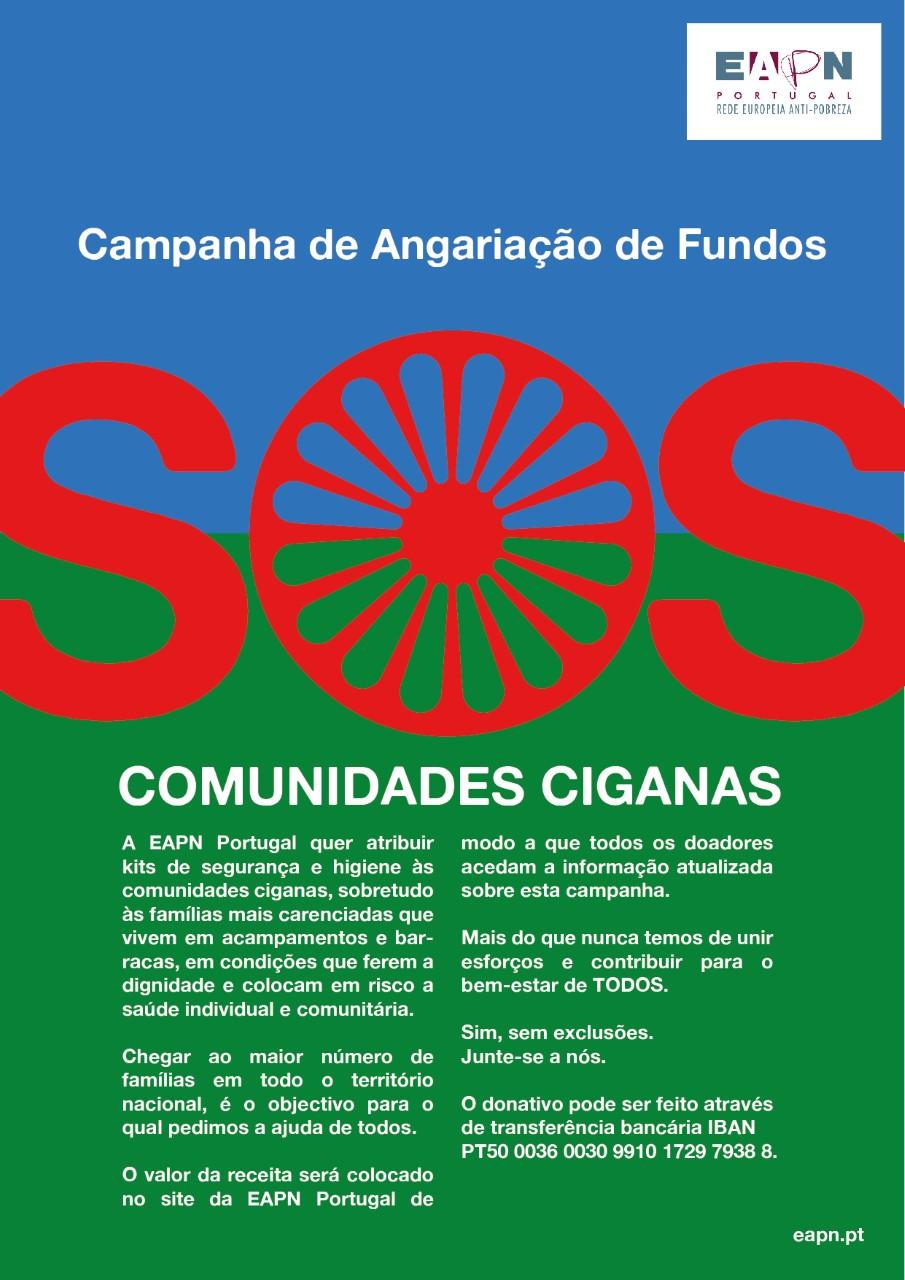 """Rede Europeia Anti-Pobreza cria """"SOS comunidades ciganas"""" para ajudar a combater a crise pandémica também no Interior"""