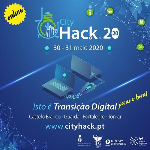 Institutos Politécnicos da Guarda, Castelo Branco, Tomar e Portalegre promovem 4.ª edição do CityHack