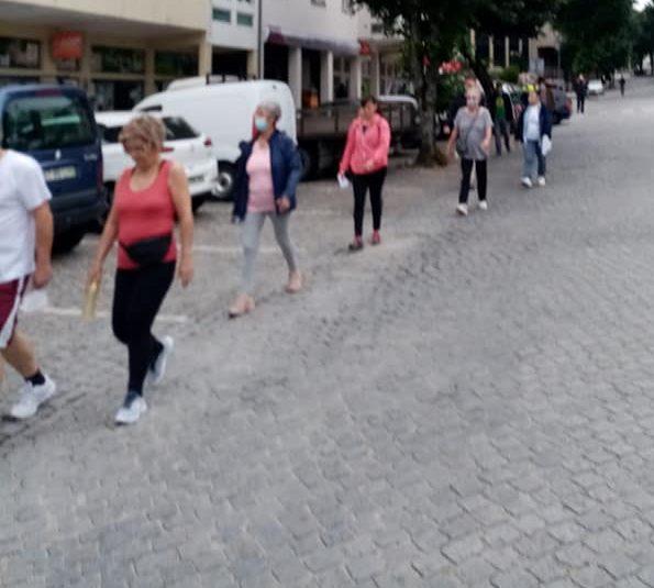 Ativistas marcharam pelo ambiente em Nelas
