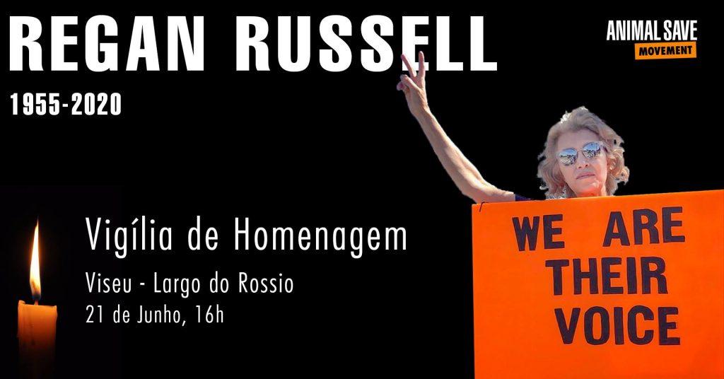 Vigília Animal Save - Regan Russell