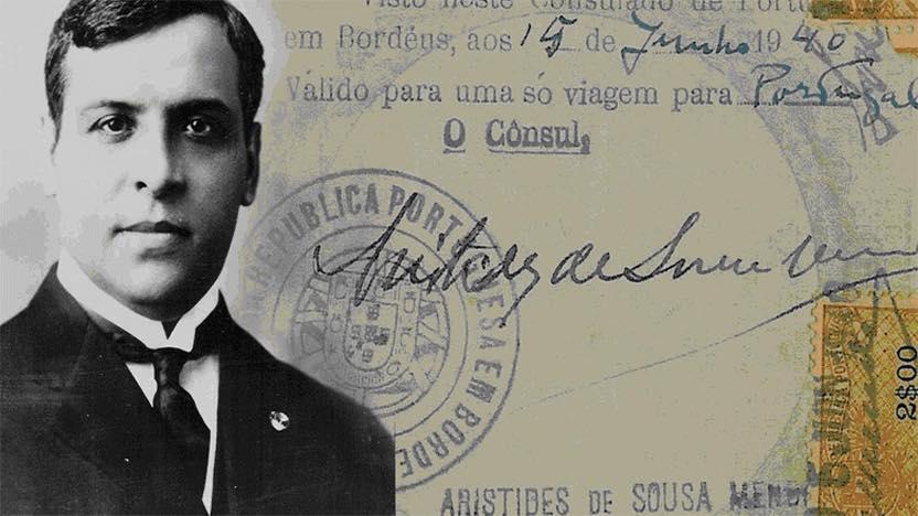 Concedidas Honras do Panteão Nacional a Aristides de Sousa Mendes