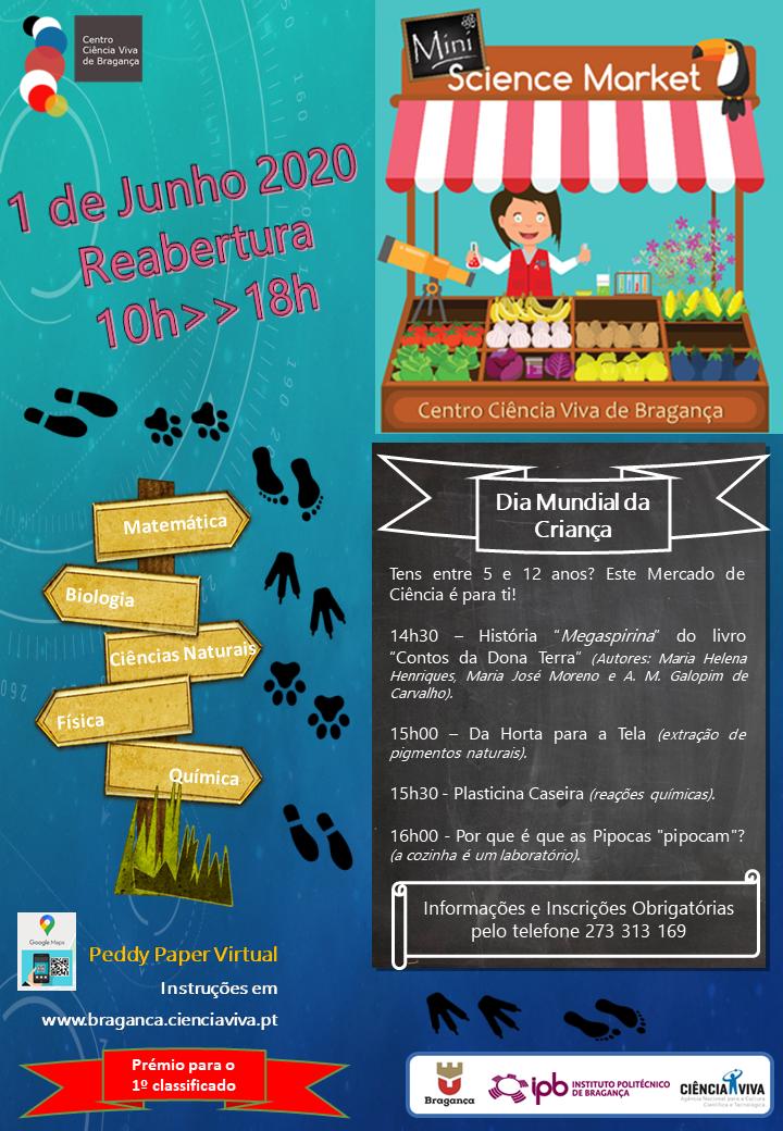 Centro Ciência Viva de Bragança reabre para o Dia da Criança