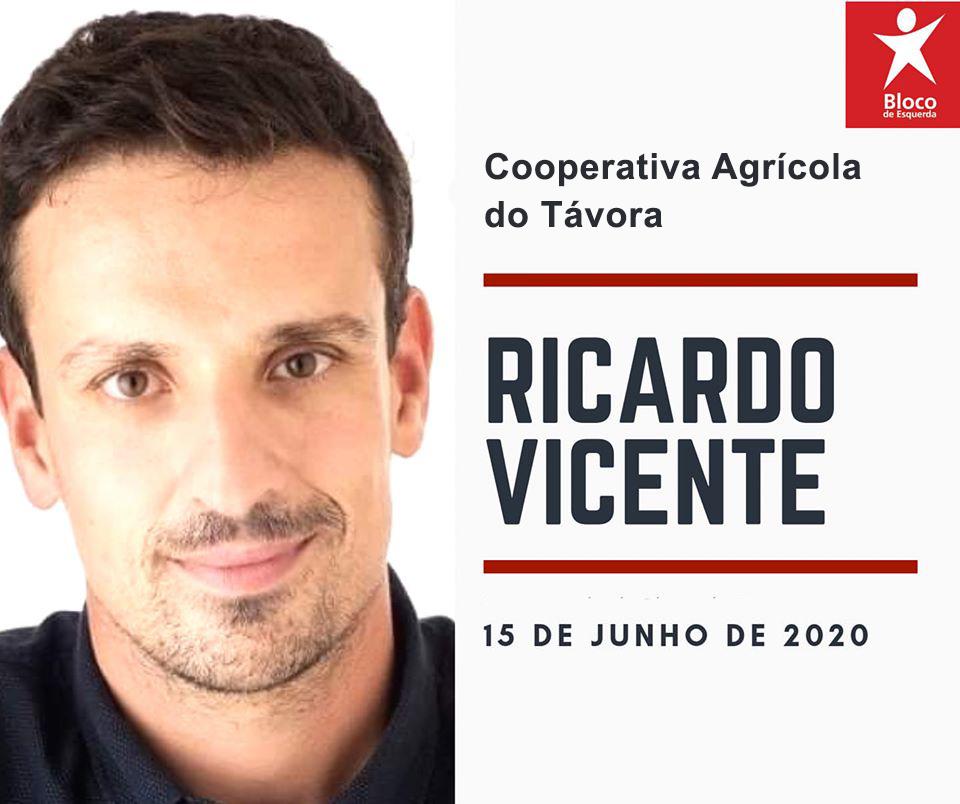 Ricardo Vicente visita áreas agrícolas afetadas pelo mau tempo na região do Távora-Varosa