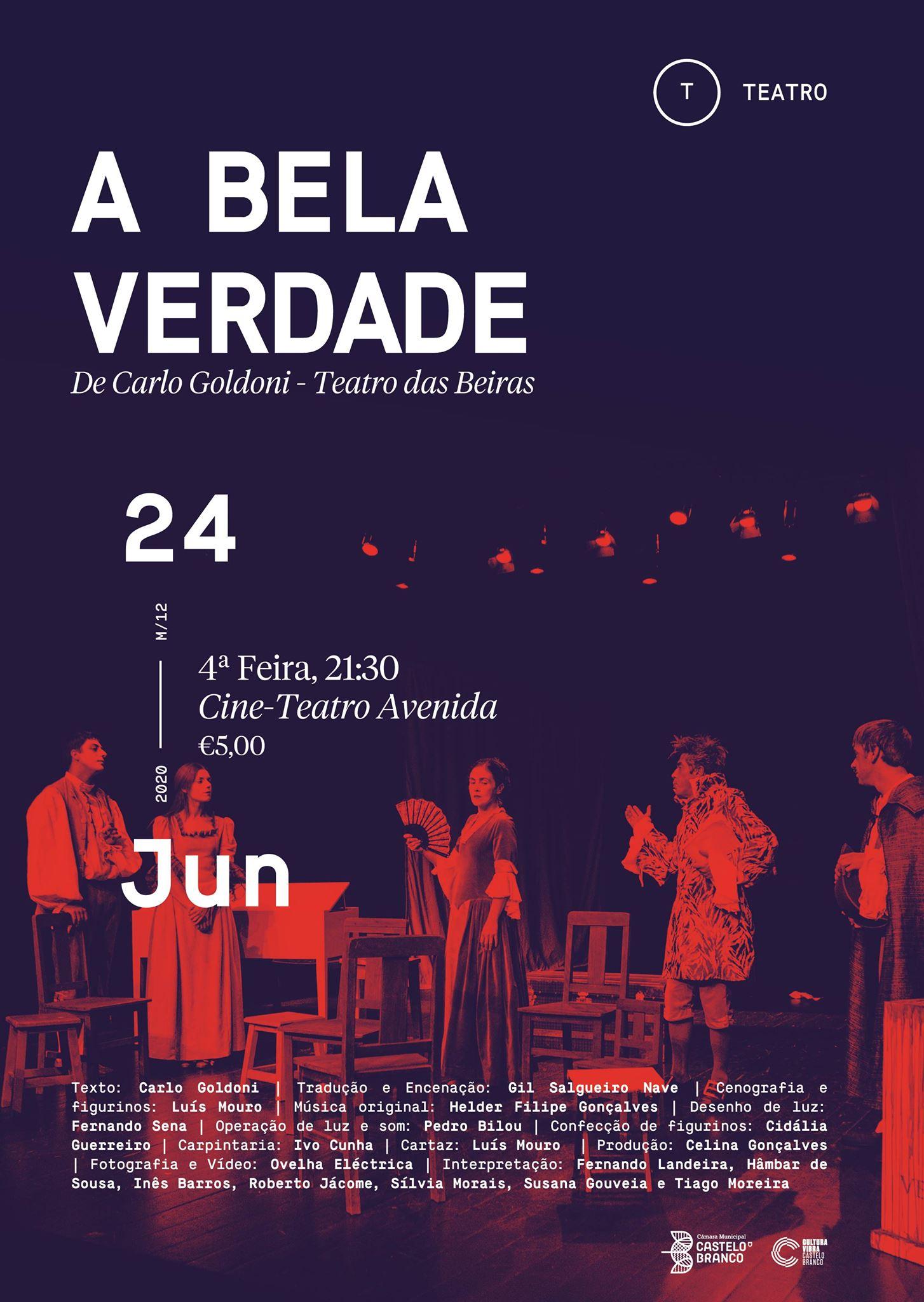 Teatros das Beiras regressa aos palcos em Castelo Branco