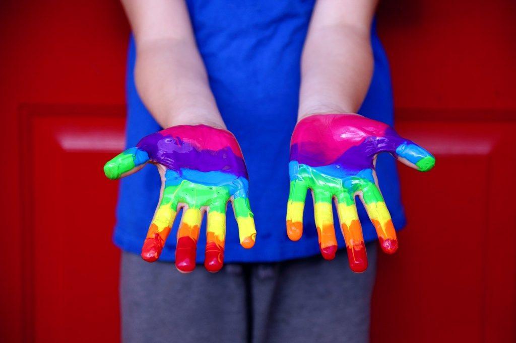 Mãos LGBTI+
