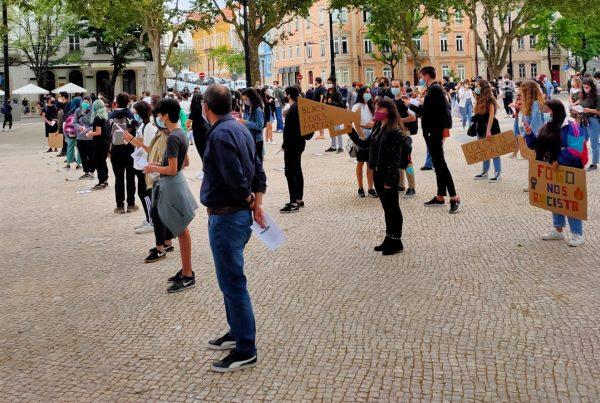 Manifestação Anti-racista de Coimbra