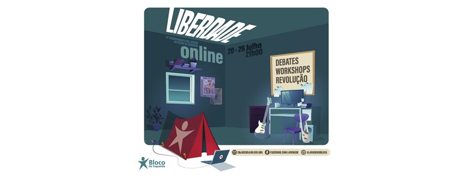 Acampamento Liberdade deste ano é online