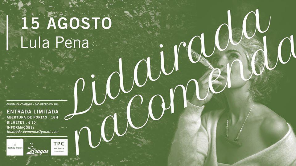 Lidairada na Comenda: música solidária em S. Pedro do Sul