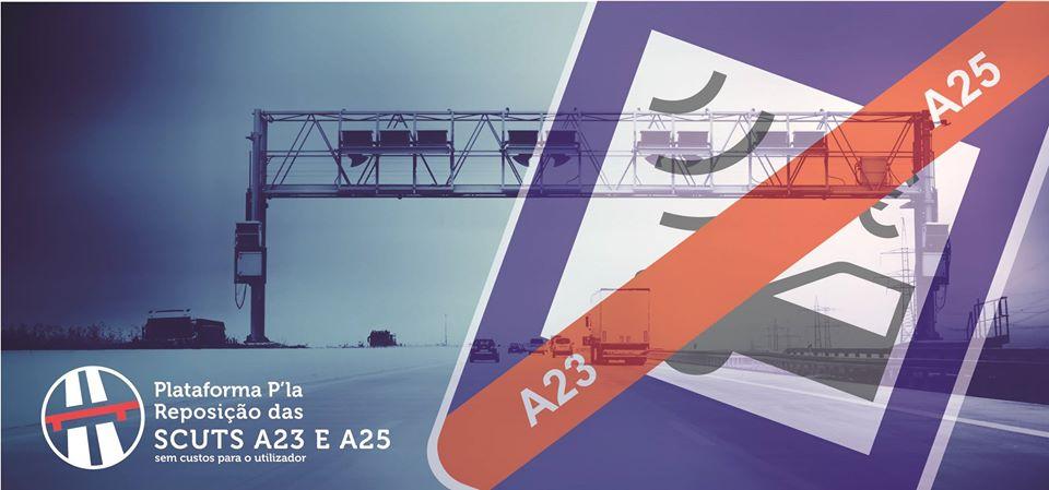 Plataforma P'la Reposição das SCUTS A23 e A25
