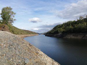 Rio Tejo junto à margem de Cedilho