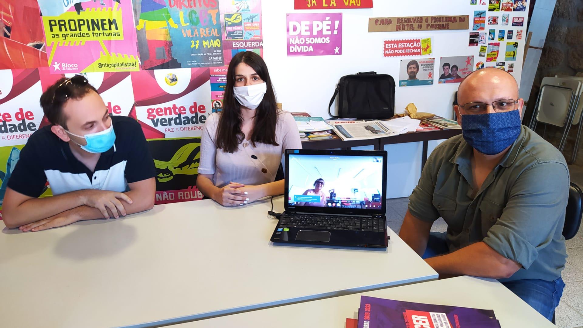 Bloco Vila Real reuniu com STRUP para discutir as condições de trabalho dos motoristas de transporte coletivo de passageiros