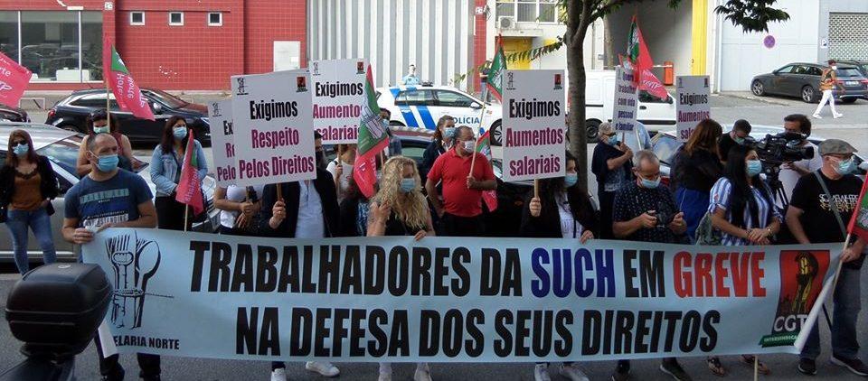 Trabalhadores dos serviços hospitalares em greve e com forte adesão