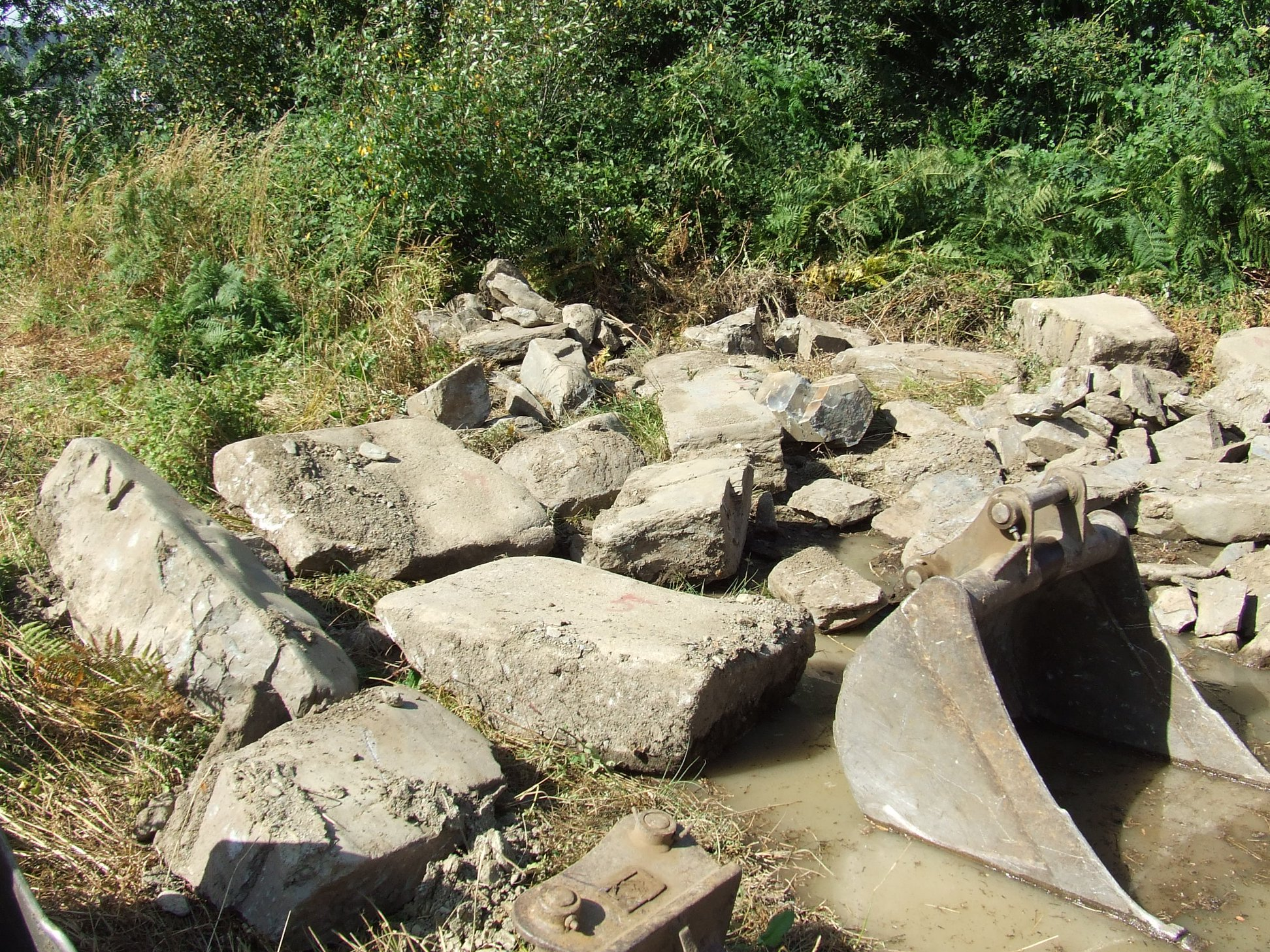 Calçada romano-medieval destruida em Campeã – Vila Real