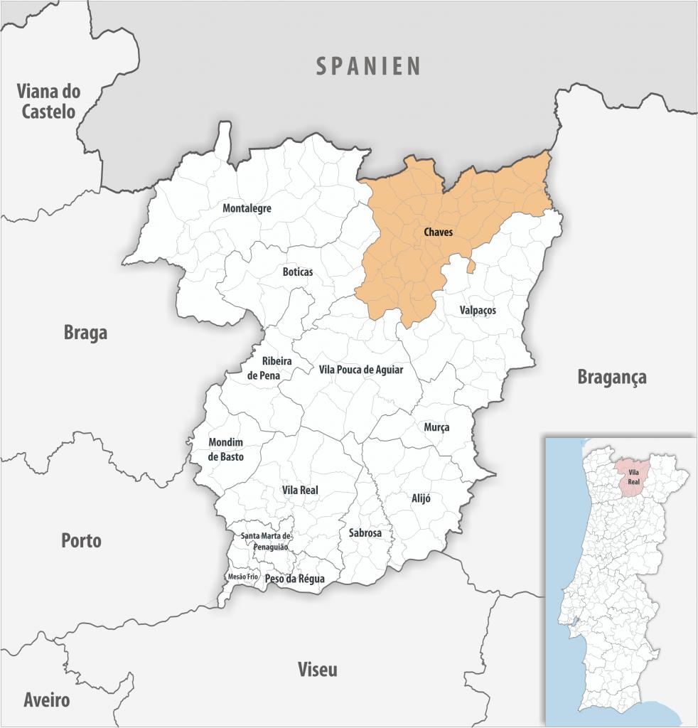 Chaves - Mapa