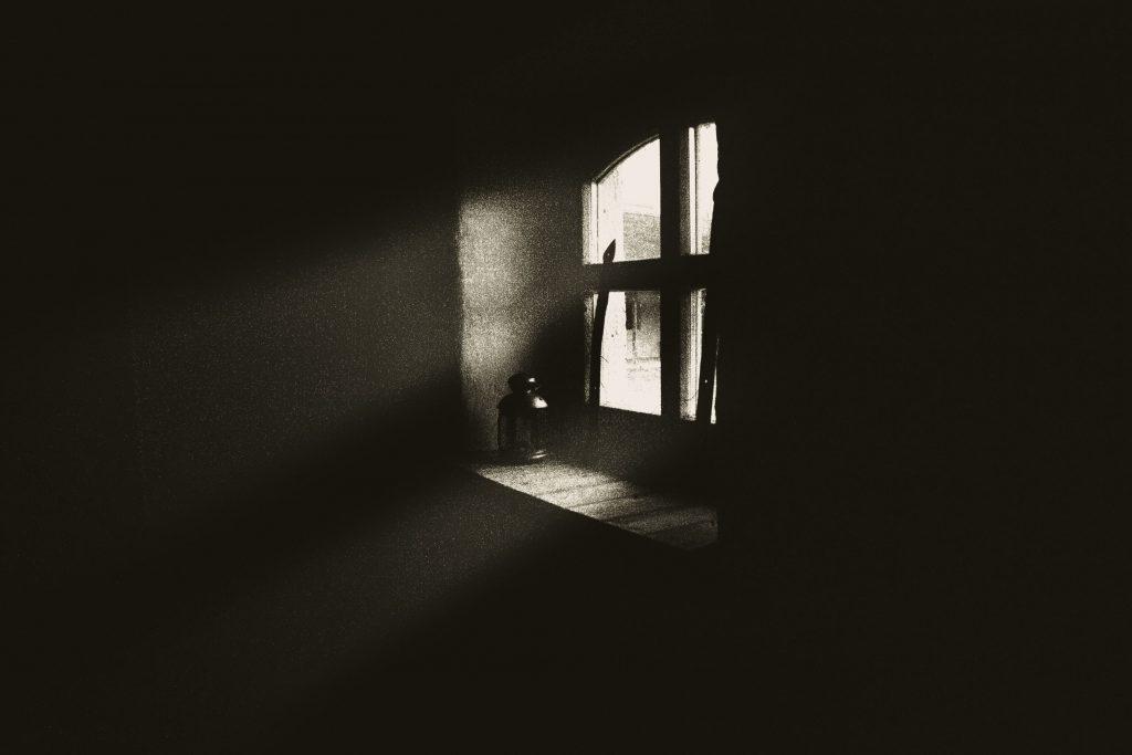 Escuridão Abandono