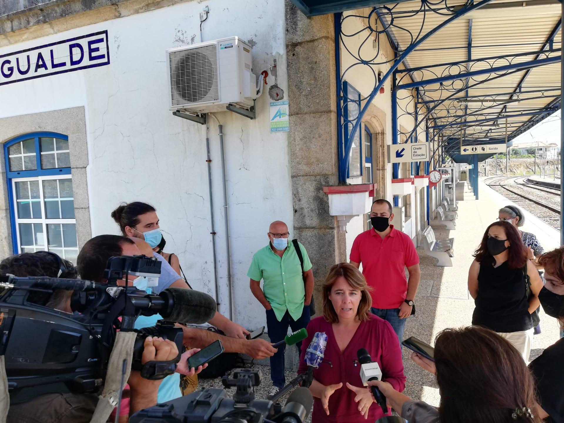 """Linha Beira Baixa: """"Nós temos pedido explicações ao governo sobre os atrasos"""""""