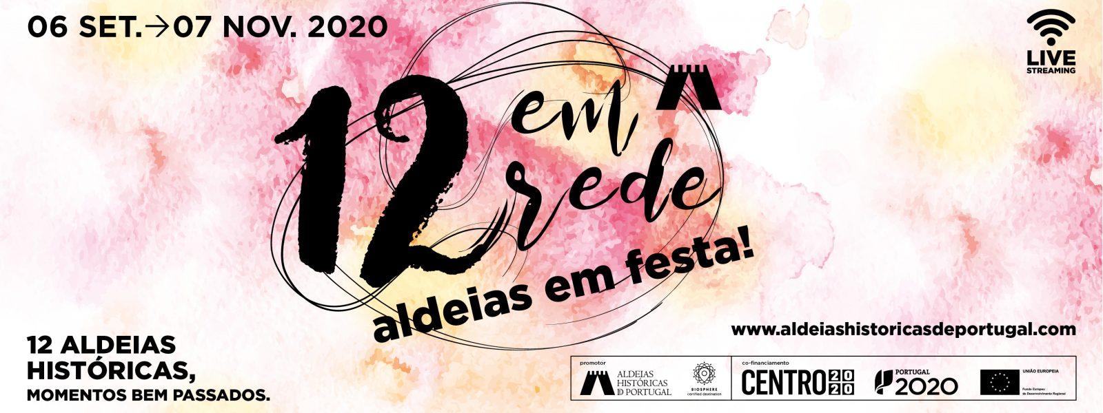 """""""12 em Rede"""": ciclo de espetáculos anima Aldeias Históricas de setembro a novembro"""