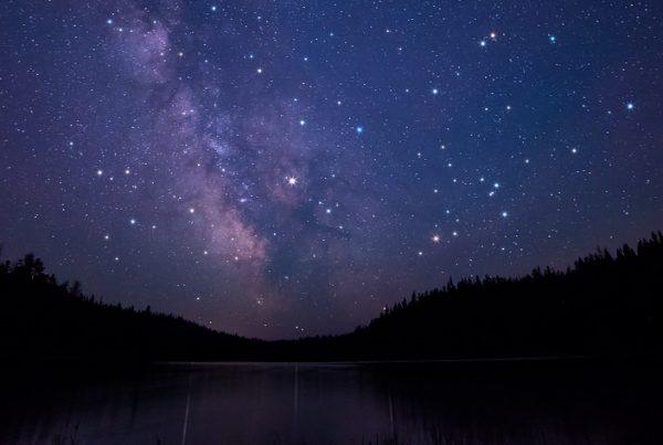 Noite com estrelas